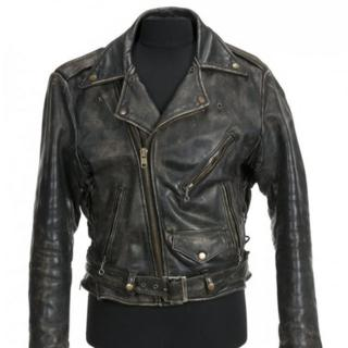 Leather jacket Patrick Swayze wore in 1987's Dirty Dancing film