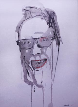 Jim Moir self portrait