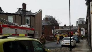 Sunderland house fire