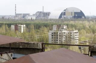 Чернобыльская зона, город Припять
