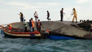 Boat accident in Tanzania