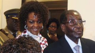 Грейс и Робоерт Мугабе