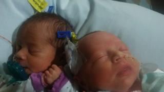 Twins, Darla and Dalanie