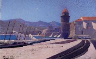 Collioure by Etienne Terrus