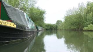 Boats at Weirs Orchard