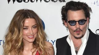 Amber Heard and Johnny Depp in 2016