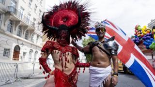 Участники гей-парада 2019 в Лондоне