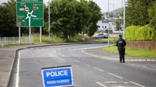 The Tandragee Road in Newry remains closed in both directions