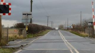 The crossing at Stainforth