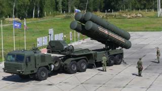 ЗРС С-400