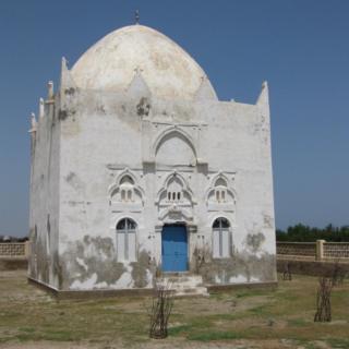 Mosque near the coast