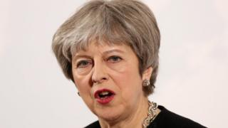 Selon la Première ministre britannique, la Russie a jusqu'à mardi soir pour s'expliquer.