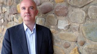Brian Meechan, presenter of Wales At Work
