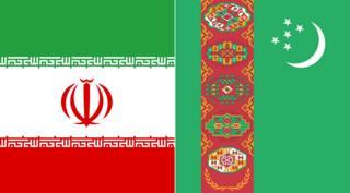 پرچم ایران و ترکمنستان