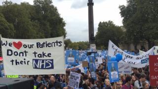 Junior doctors' rally