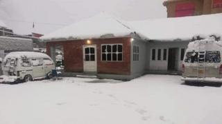 ناران، برفباری