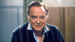 "Tony Britton as Dr Toby Latimer in series one of the comedy sitcom ""Don't Wait Up""."