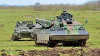Tank on Salisbury Plain