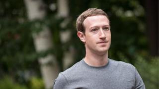 المدير التنفيذي لفيسبوك مارك زوكربيرغ