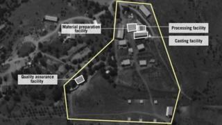 اسرائیل می گوید که این تاسیسات در نزدیکی روستای نبی شیت واقع در دره بقاع لبنان واقع است