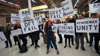 Campaigners stage protest