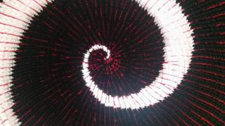 Inside Event Horizon balloon structure in Edinburgh