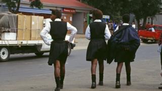 School girls south africa