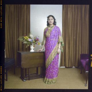 in_pictures Woman in sari