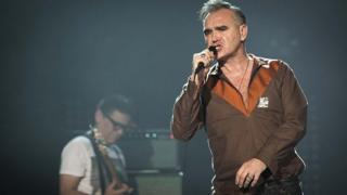 İngiliz şarkıcı Morrissey,