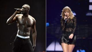 Stormzy and Taylor Swift