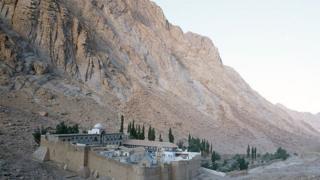دير سانت كاترين في سيناء