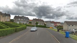 Hawthornhill Road in Dumbarton