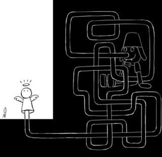 کارتون از لاله ضیایی