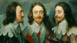 Карл I в трех ракурсах. Картина кисти Ван Дейка