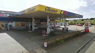 Gleaner filling station