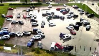 Flood at Victoria Hospital