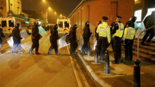 Riot police enter HMP Birmingham