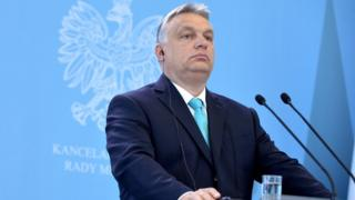 Mađarski premijer Viktor Orban govori u Mađarskoj.