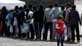 پناهجویان در کالابریا