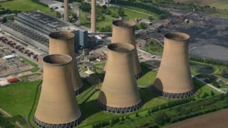 A UK power station