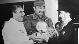 Gabriel García Márquez, Fidel Castro y Fernando Birri