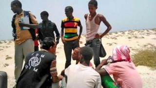 migrants Yémen