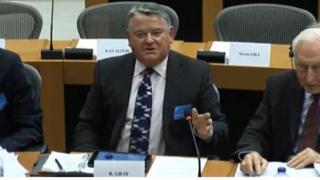 Rob Gray in EU tax committee