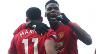 Paul Pogba y Anthony Martial