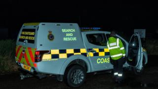 Two rescued after boat runs aground near Hopeman