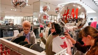 H&M store in Moscow