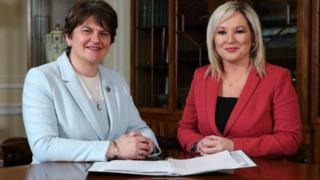 Northern Ireland Arlene Foster and Michelle O'Neill