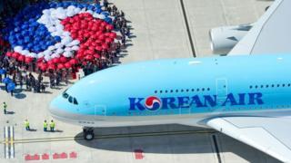Korean Air jet