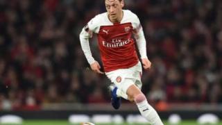 Kiungo wa kati wa Arsenal Mesut Ozil