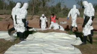 Mass grave uncovered in eastern Syria